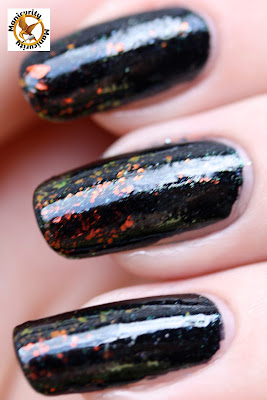 China Glaze Smoke and Ashes and Nubar 2010 macro