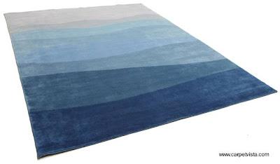 Carpeta de alfombra de diseño contemporáneo