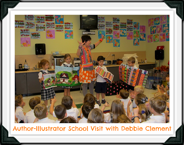 Author-Illustrator School Visit with Debbie Clement
