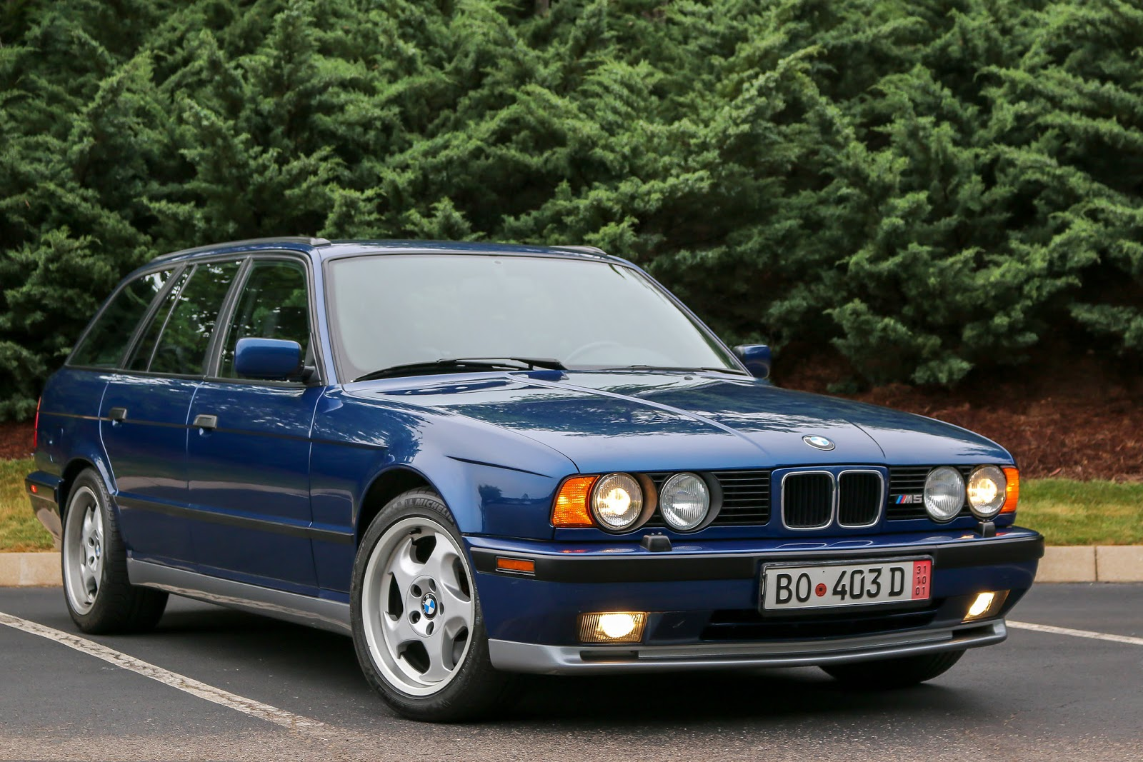 Daily Turismo Dt S Take On Bat Auction 1993 Bmw M5 Touring
