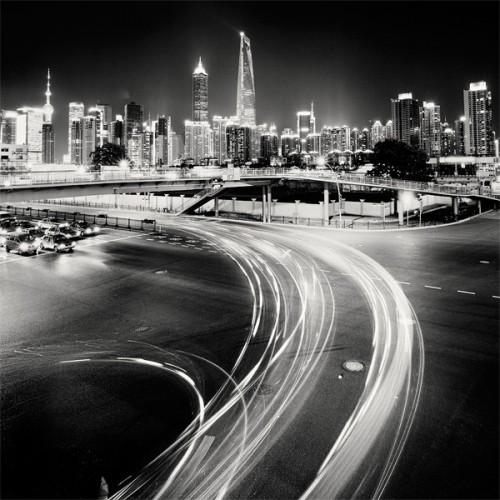 красивые чёрно-белые фотографии городов