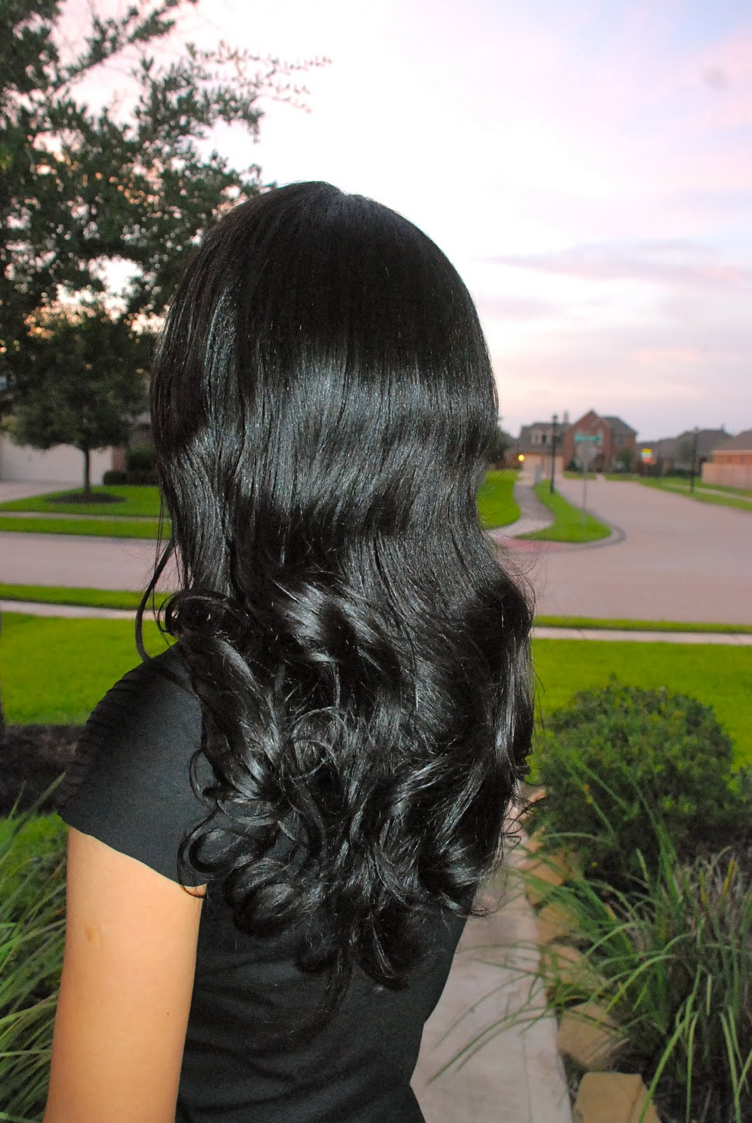 Healthy Hair : Healthy Relaxed Hair Feature: How does she get such perfect hair ...