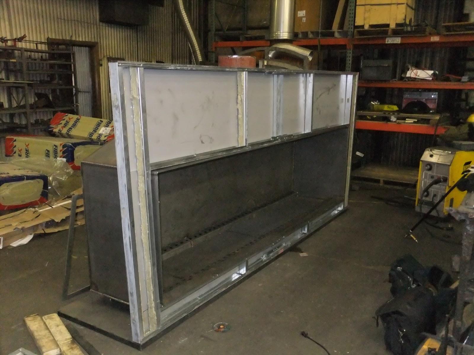 test fire custom linear gas fireplace acucraft fireplaces