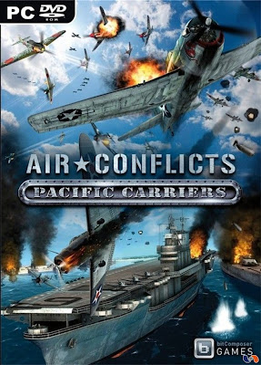 Free Download Air Conflicts: Pacific Carriers PC Game Full Version Cover
