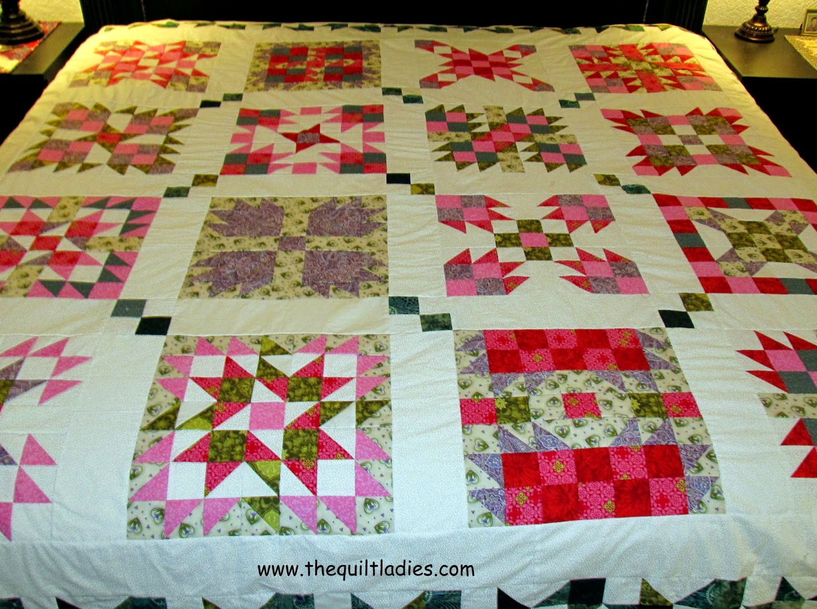16 quilt pattern in the book B. Annie Quilt Pattern Book