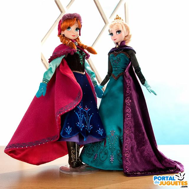 nuevas muñecas elsa anna edicion limitada frozen
