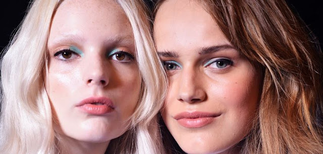 make up backstage at rebecca minkoff ss13