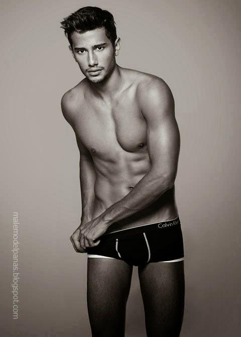 George Alves Irineu in Calvin Klein Underwear