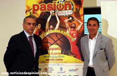 Voluntarios de la JMJ: gratis, entradas para el partido España-Lituania (baloncesto)
