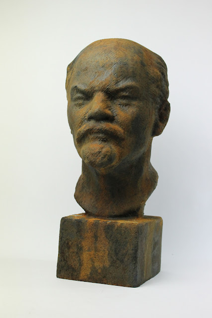 Iron Lenin Rusty