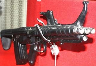 Трехствольный автомат залпового огня ТКБ-059 Германа Коробова