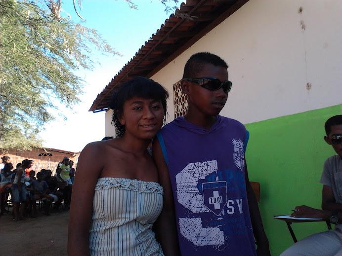 Desfile: Edna e Claudio