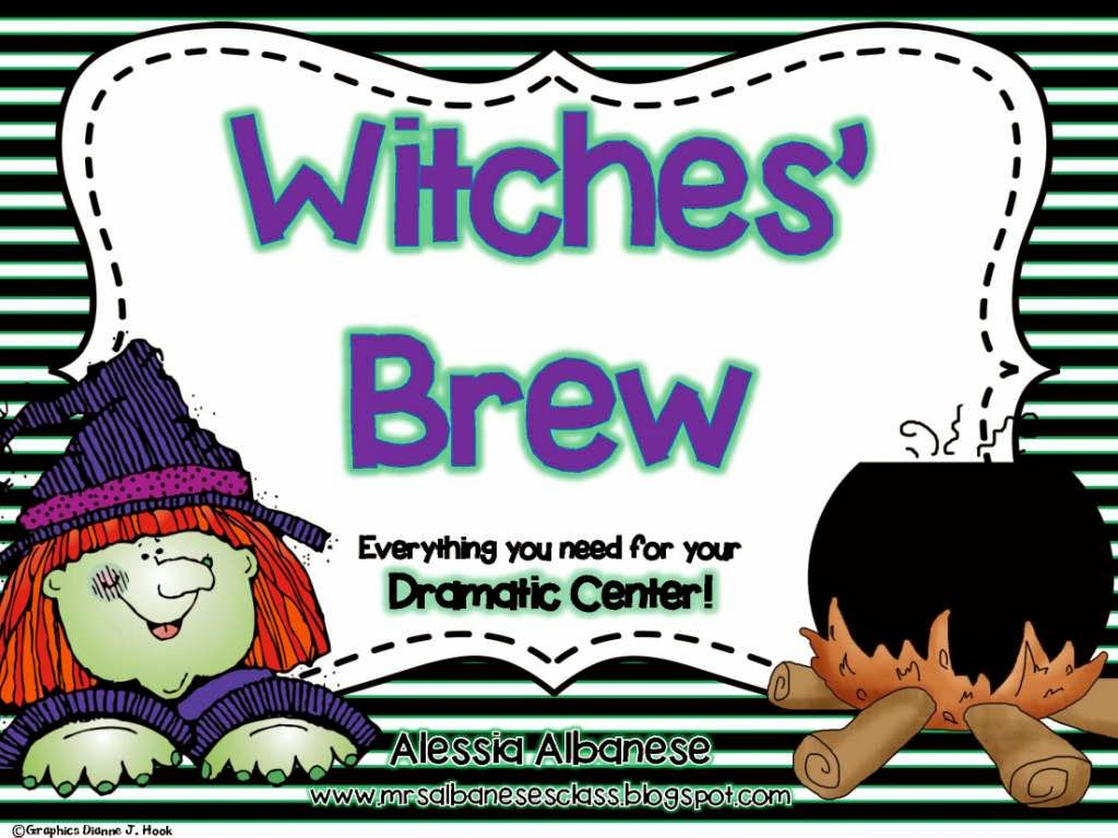 http://www.teacherspayteachers.com/Product/Witches-Brew-Dramatic-Play-Center-1509725