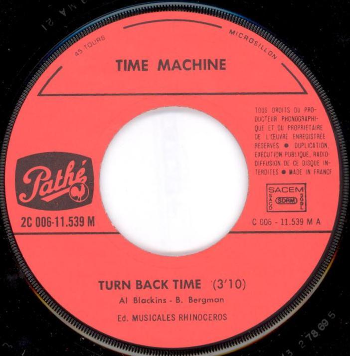how to turn time machine