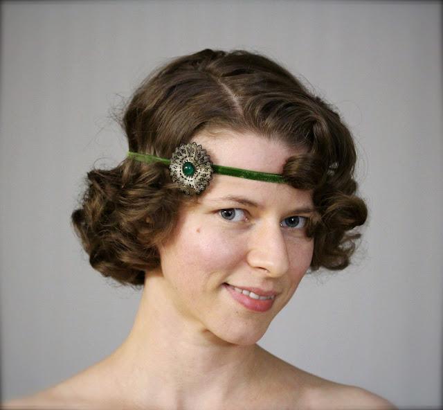 1920s style headband #1920s #greatgatsby #flapper