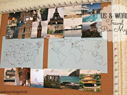 Places I've Been - US & World Travel Pin Maps