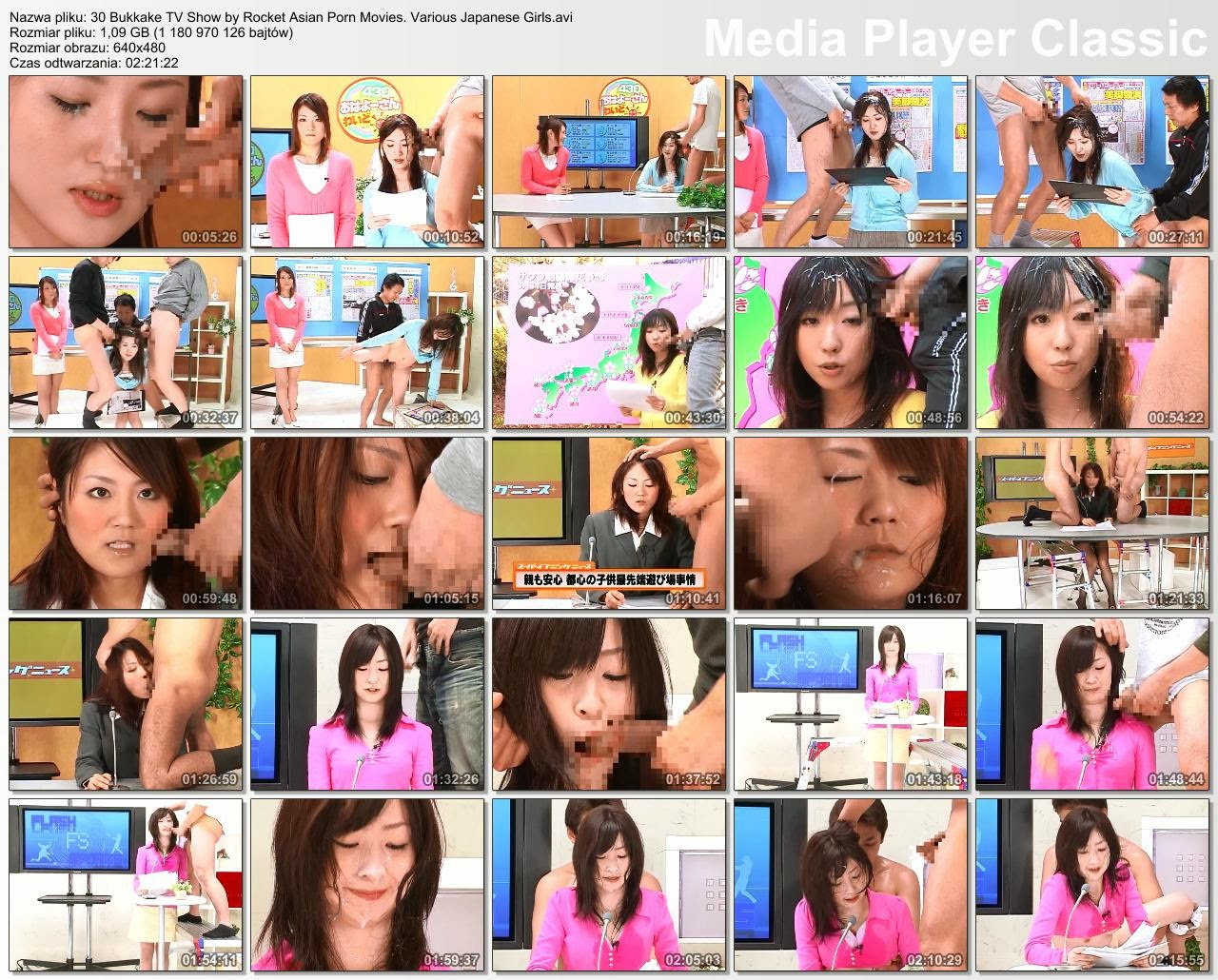 30 Bukkake TV Show by Rocket Asian Porn Movies. .