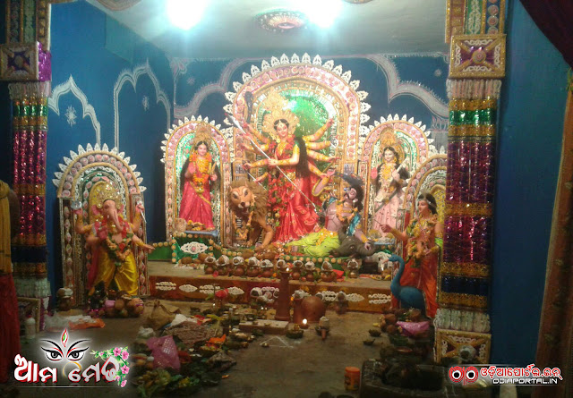 Ama Medha: Durga Medha of Jayapatana, Kalahandi - Photo By Sagar Nayak