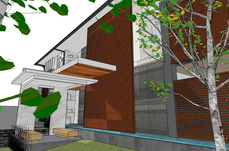 arsitektur ruang ilmu perancangan rumah mewah modern