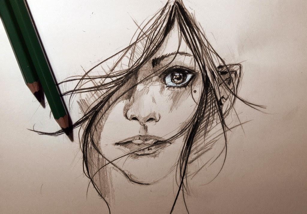 Menulis, bernyanyi dan menggambar