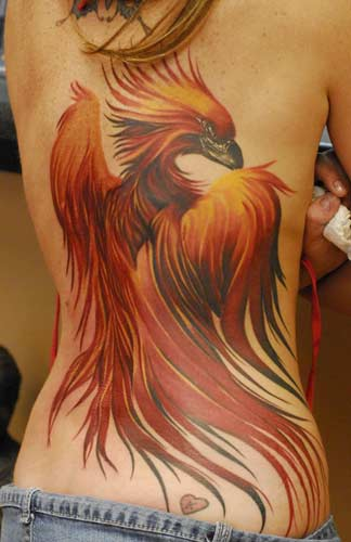 phoenix tattoo for women women phoenix tattoo