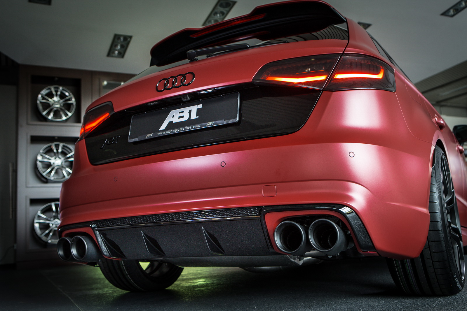 Audi Rs3 Boosted To 443hp With The Kind Help Of Abt