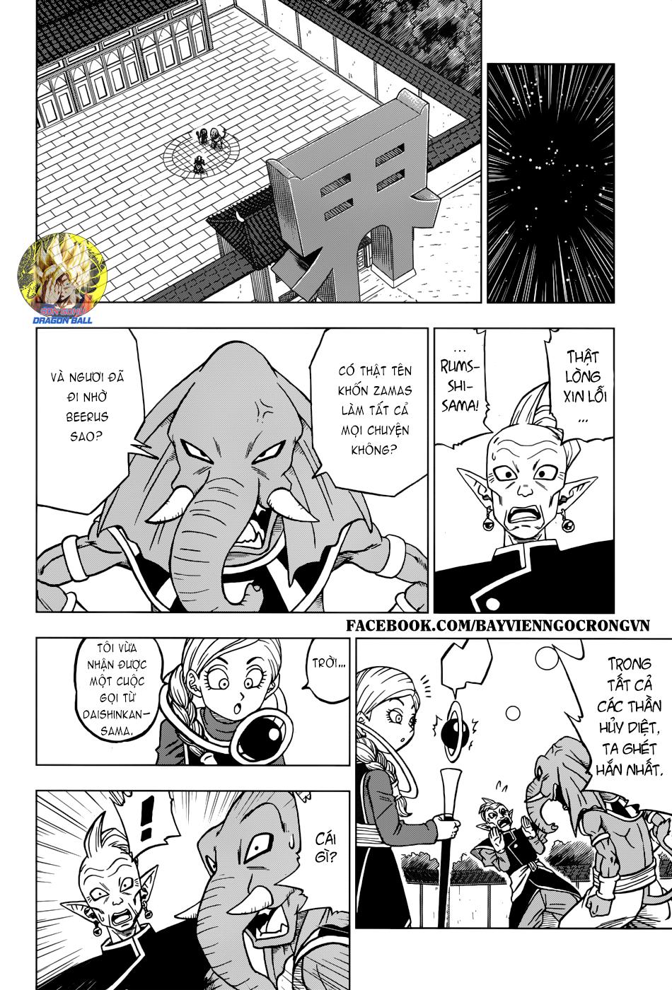 Dragon Ball Super - Dragon Ball Super - chapter 28 tập 28