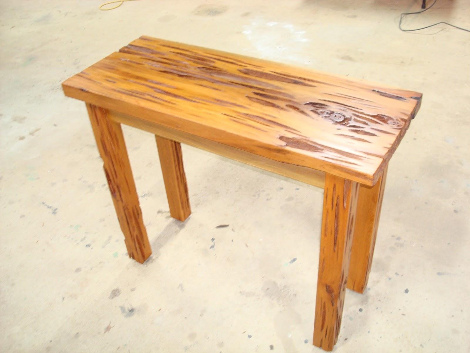 Etonnant Pecky Cypress Table