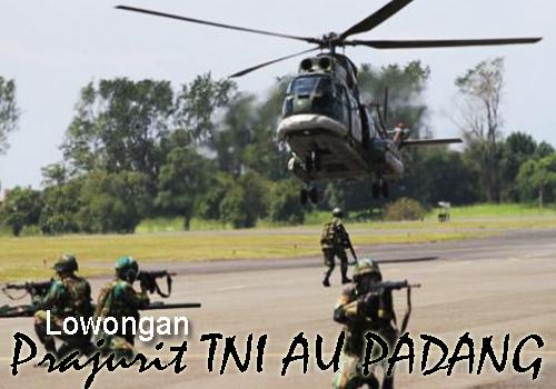 Prajurit Bintara TNI AU PADANG