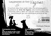 Lançamento do livro Vegana