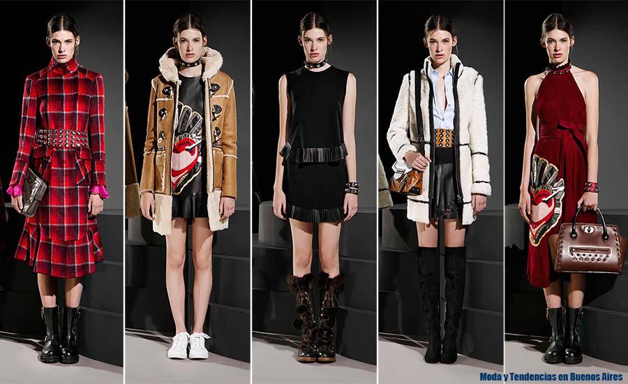 Moda otoño invierno 2015 Jazmin Chebar tapados, sacos, faldas, vestidos cortos y largos. Moda invierno 2015.