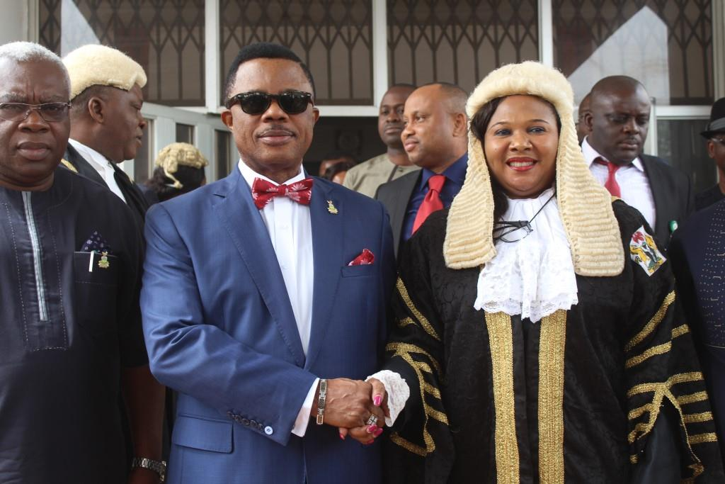 Obiano and the judiciary workers in the state have disagreed over the issue of whether he has paid them all their allowances and subventions up to date.
