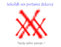Sekolah sex pertama di dunia, petanda akhir zaman ?