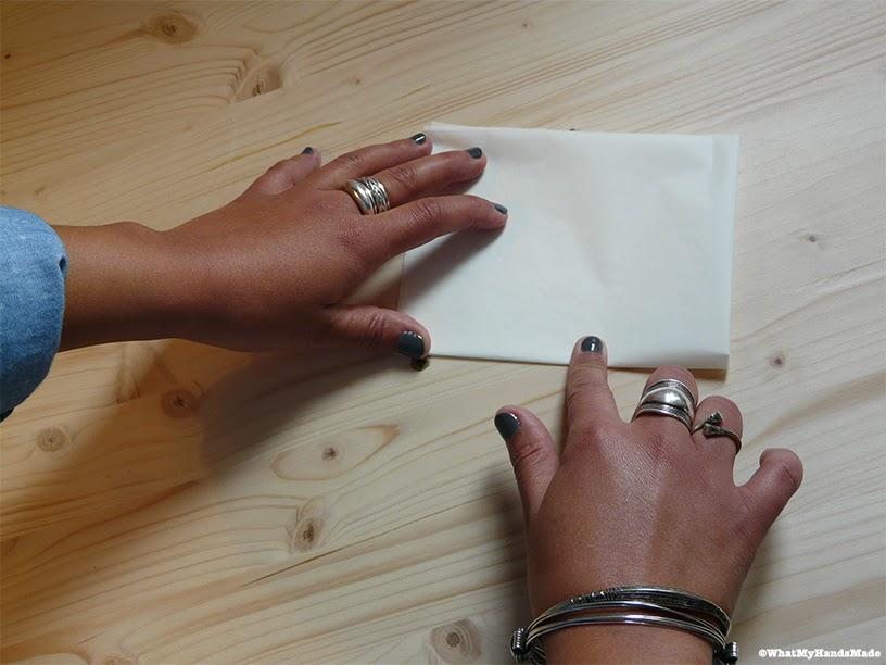 guirlande en papier cuisson