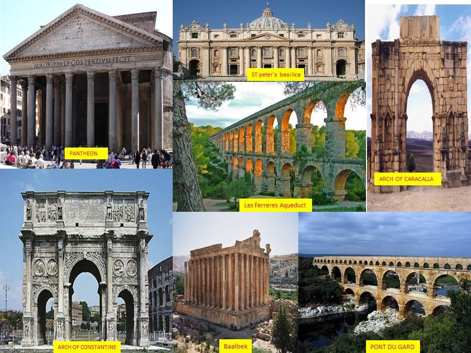 ANCIENT ROMAN ARCHITECTURE January 2016