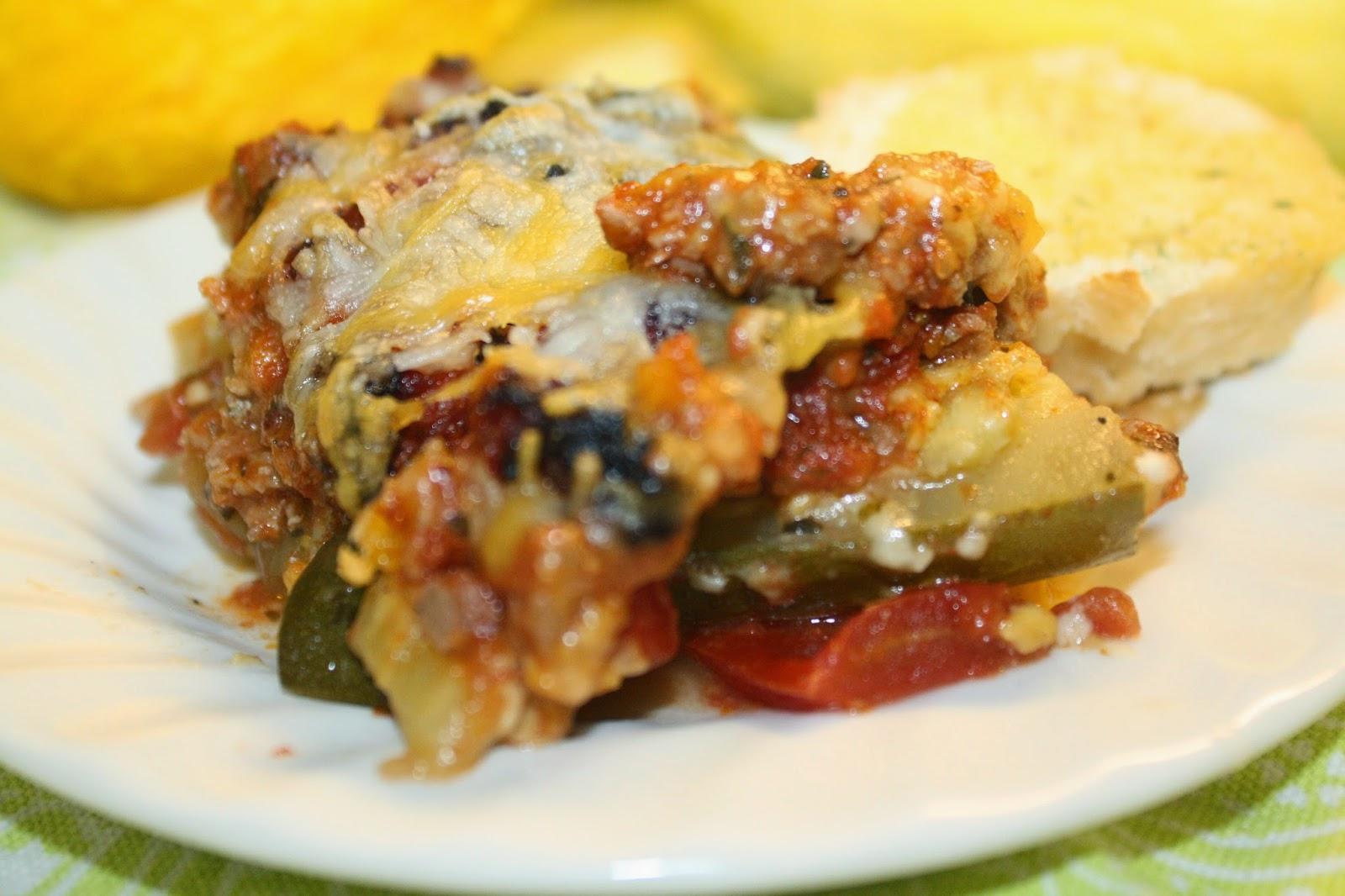 The Ranch Kitchen: Vegetable Lasagna