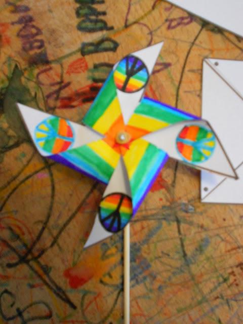 peace pinwheel