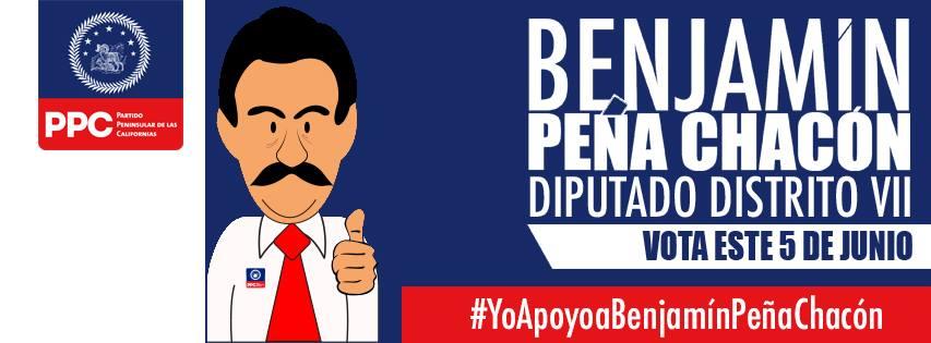 #YoApoyoaBenjamínPeñaChacón