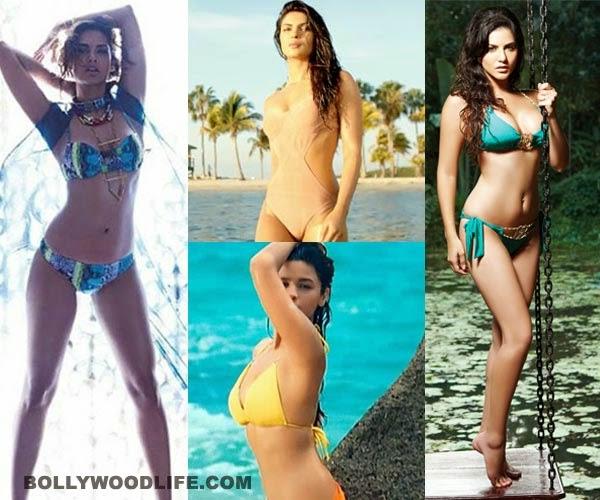 Deepika Padukone, Kareena Kapoor, Anushka Sharma, Kareena Kapoor Khan, Alia Bhatt, Anushka Sharma, Esha Gupta, Sunny Leone, Priyanka Chopra, Kangana Ranaut, Sonam Kapoor, Nargis Fakhri, Hot, bikini