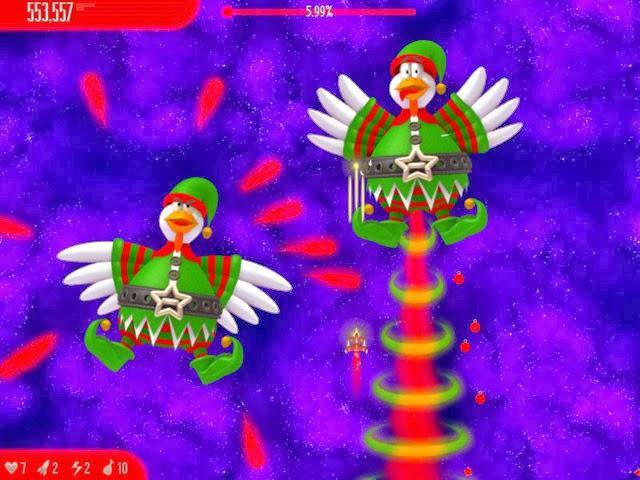Christmas Chicken Invaders
