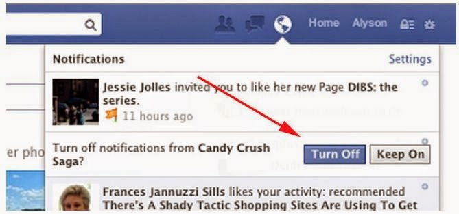 how to clear all facebook notifications