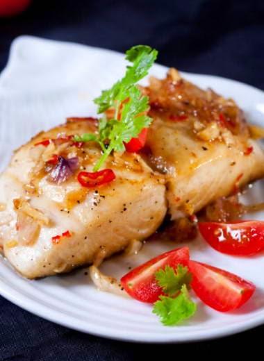 Vietnamese Fish Recipe - Cá Thu Chiên Ớt