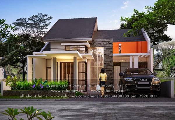 seputar dunia rumah desain rumah delta dieng 9 15x18 m2