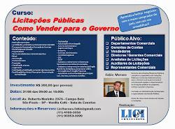 """Curso """"Licitações - Como Vender para o Governo"""""""