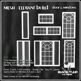 Mesh - Elegant Build - Door and Windows