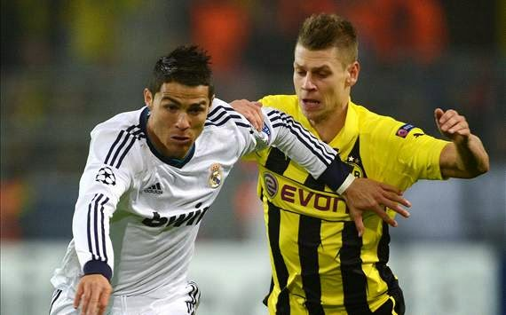 Hasil Pertandingan Real Madrid vs Borussia Dortmund 3 April 2014