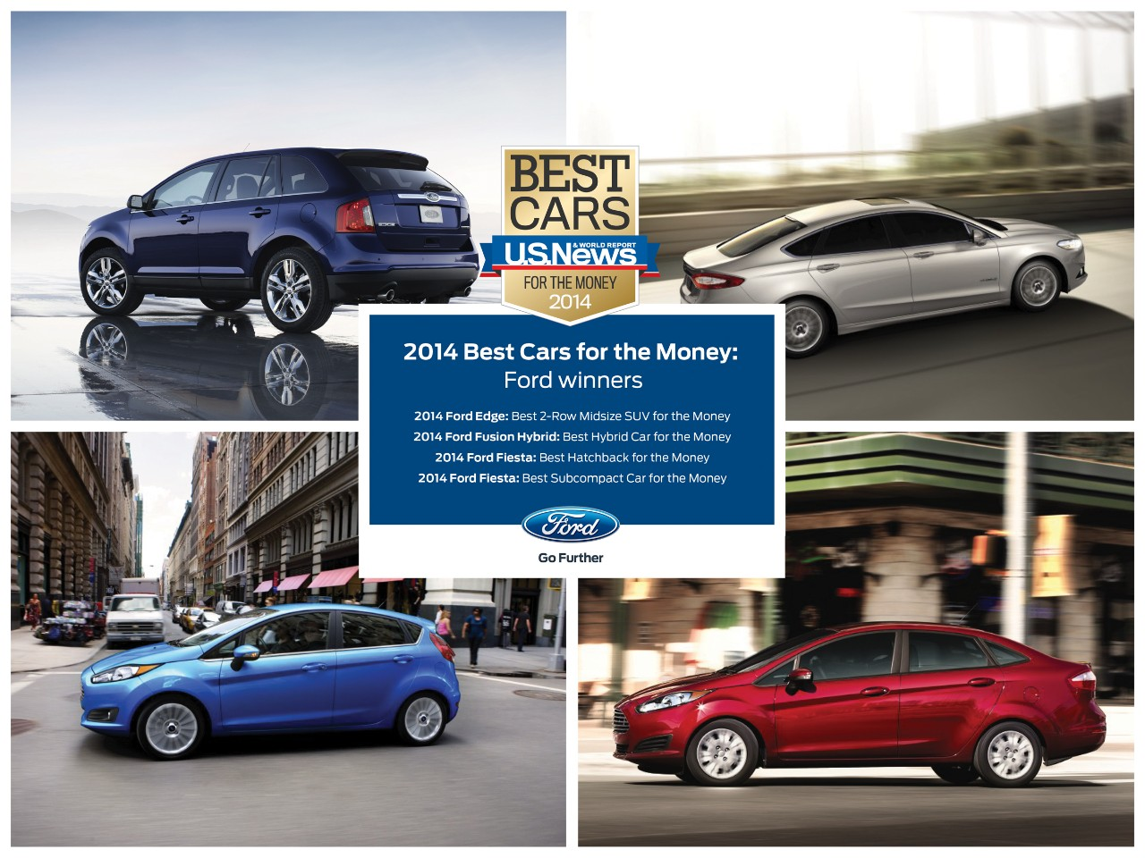 Ford was the Most-Awarded Brand in U.S. News & World Report