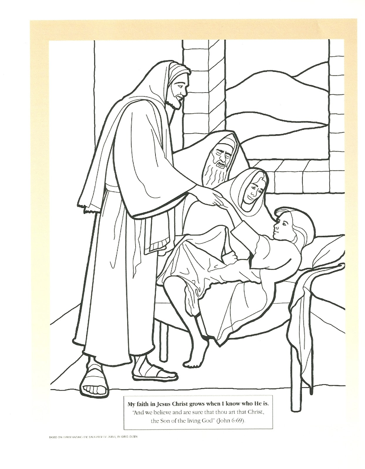 Murrayandmathewsblogspot Jesus Raises The Daughter Of Jairus