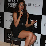 Nargis Fakhri Showcasing Her Long Sexy Legs At The Van Heusen Event