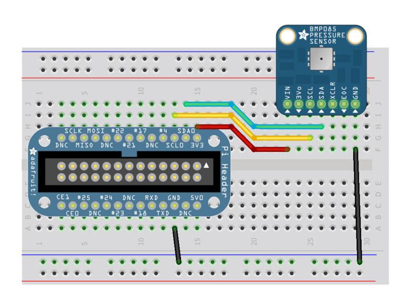 Banana Pi - I2C Barometer BMP085